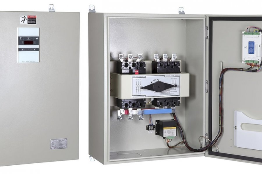Automatic Main Failure (AMF) and Automatic Transfer Switch (ATS) Panel