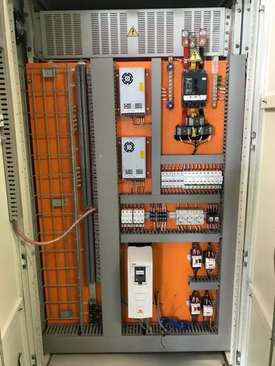 Projects   SERION  Electrical and Automation Control    Panel
